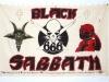 Black Sabbath concert banner