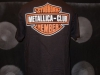 Metallica fanclub t-shirt biker