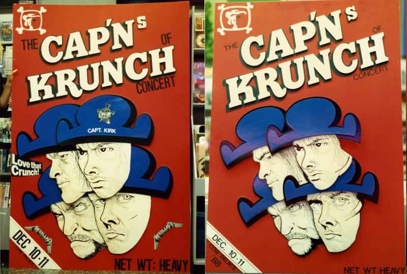 Capn\'s of Krunch - Metallica