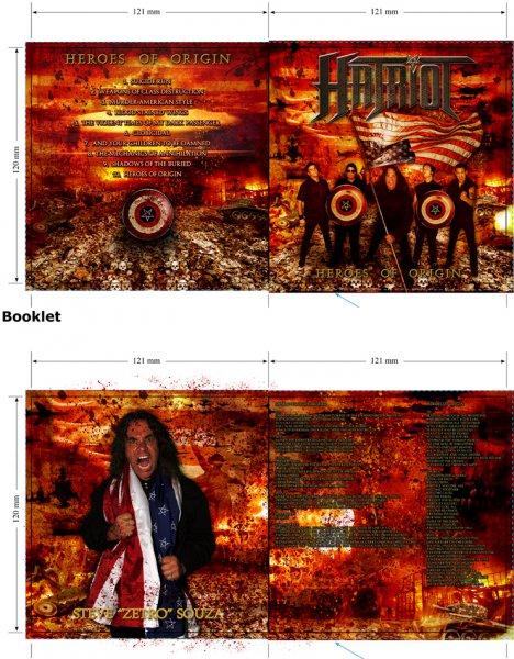 Hatriot - booklet pcs.