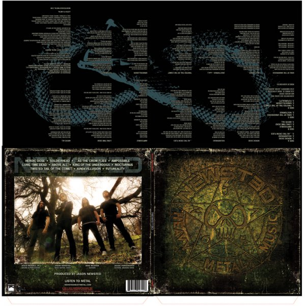 Newsted - LP packaging