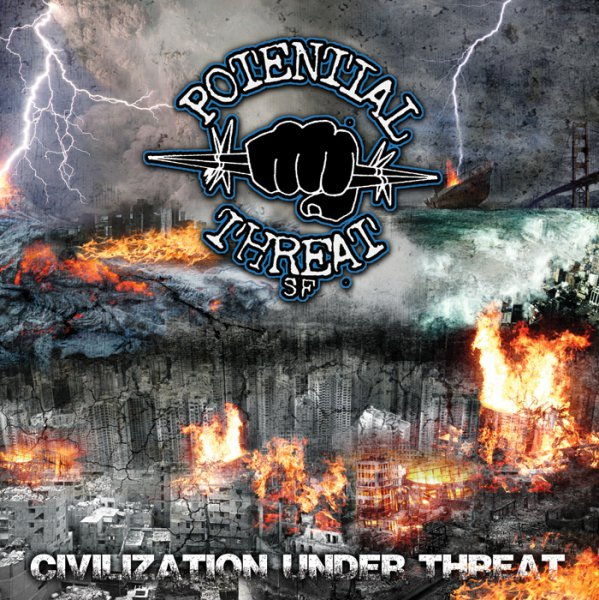 Potential Threat SF - CD cover