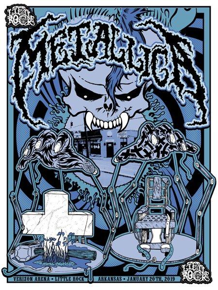 METALLICAlittlerockMDV18x24v3