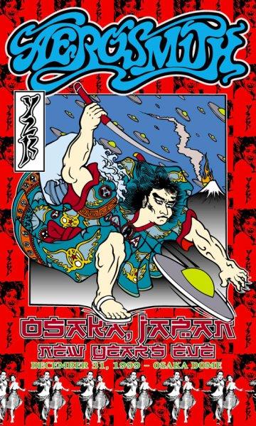 Aerosmith - NYE Y2K Osaka Dome