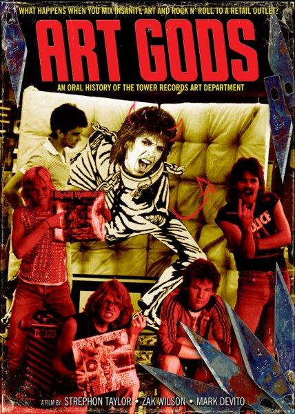 artgodsposter - Film documentary cover