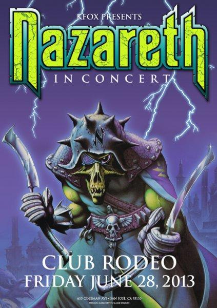 nazposter -Return of the Mighty Nazareth
