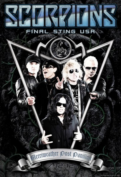 Scorpions - Final Sting Tour