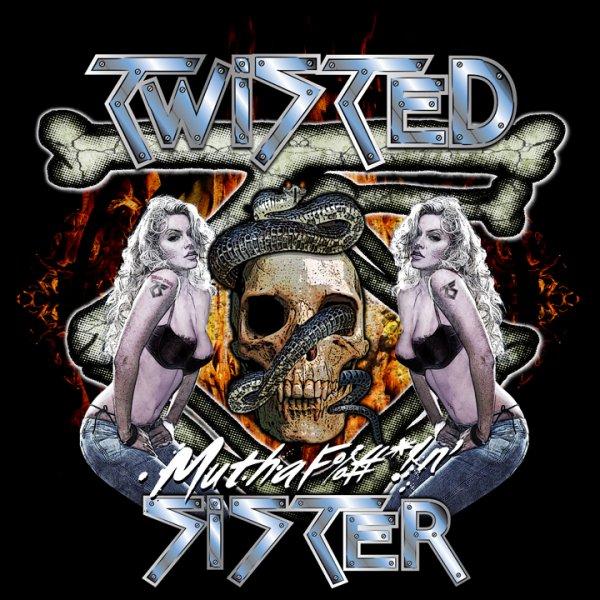 Twisted Sister - Skull Fire Chicks